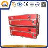 Langer roter ATA Flug-Aluminiumtransportbehälter (HF-1701)
