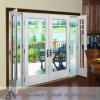 Porte en aluminium de tissu pour rideaux d'épreuve saine avec la seule glace