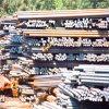 De Pijp van het roestvrij staal/het Staal van de Staaf van de Ronde van de Klep/van de Buis