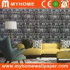 Papel de parede 3D impermeável do vinil Home popular do PVC da decoração