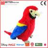 Macaw suave del animal relleno del pájaro de la alta calidad