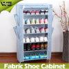 Armário alto Foldable plástico do armazenamento do gabinete da sapata para a venda