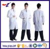Longues couches de laboratoire de DÉCHARGE ÉLECTROSTATIQUE de chemise pour l'usage d'hôpital