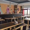 Silla de cuero cómoda moderna de los muebles del restaurante sin los apoyabrazos (SP-CS309)
