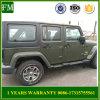 Jk Mopar 2/4 Zwarte ZijStaaf van Deuren voor de Jeep Wrangler van 2007-2016