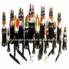 XLPE ignifuge a isolé le câble de commande blindé engainé par PVC de bande en acier