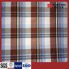Rot-und Schwarz-Check-Baumwolle 100% gesponnenes Garn gefärbtes Gewebe