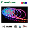 luz de Natal IP65 do RGB 5050 da tira do diodo emissor de luz do USB 5V