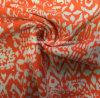 Tela anaranjada de la impresión para la ropa de deportes (HD1401101)