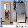 venta al por mayor del vidrio del espejo del aluminio de 3m m 4m m 5m m 6m m