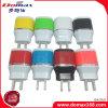 Заряжатель стены перемещения USB мобильного телефона заряжателя USB микро-