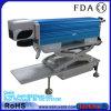 Integrated relativo à promoção com a máquina de gravura do laser da fibra da tabela de funcionamento