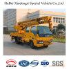 camion élevé de Special de plate-forme de fonctionnement de 14m Isuzu Euro4