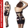 Fishnet atractivo Bodystocking de la ropa interior negra de la manera