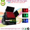 1000W LED City Color Light 96PCS * 10W RGBW 4in1 LEDs para decoração ao ar livre DMX Wireless