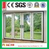 明確な二重ガラスアルミニウム開き窓のドア