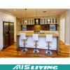 Кухонные шкафы кухни цены по прейскуранту завода-изготовителя с ручками для квартиры (AIS-K376)