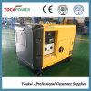 conjunto de generador silencioso de la potencia portable de la refrigeración por aire 5kVA