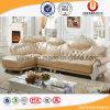 Sofà di cuoio reale di L-Figura per la mobilia del salone (UL-X2026)