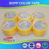 6 cinta de empaquetado plana del paquete BOPP de Rolls con la etiqueta
