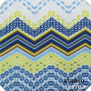 Elastisches Fabric Wave Printed Fabric mit Beautiful Color