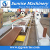 Cadena de producción plástica (WPC) de madera del perfil de Composit