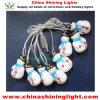 Luces de la decoración LED de la celebración de días festivos de la Navidad del muñeco de nieve