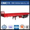 Cimc трейлер бортовой стены груза 3 Axles Semi