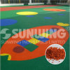 La Chine Supplier Coloured Recycled EPDM Granules pour Kindergarten