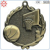 Medaglie antiche su ordinazione di pallacanestro del metallo