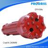 Бит кнопки DTH Dia 145mm, длины 362mm, вогнутой