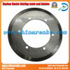 Round circular Paper Cutting Blade de Tungsten Carbide Disc Cutter
