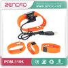 Tw64 imperméabilisent le Pedometer intelligent de Wristband de Bluetooth de silicone