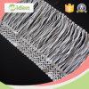 새로운 디자인 15cm 길쌈되었거나 뜨개질을 한 화학 레이온 프린지 레이스