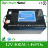 De diepe IonenBatterij van het Lithium van de Cyclus (LiFePO4) 12V 300ah