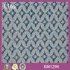 Tissu de tricotage de lacet de coton de qualité (Km1294)