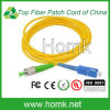 Het Koord SC/PC FC/APC LC/Sc/FC/St/Mu/MTRJ van het Flard van de vezel kiest Multimode SimplexDuplex van de Wijze uit