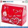 Caja plegable de regalo del paquete de la caja del ocio del alimento de los frutos secos de la azufaifa roja de gama alta de la caja de embalaje