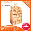 L'école maternelle badine les blocs constitutifs en bois de jouets de brique d'éducation