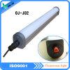 Tubo chiaro antipolvere dell'indicatore luminoso di conservazione frigorifera del tri tubo impermeabile LED della prova 220V LED del Ce