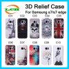 Boîtier pc dur créateur d'allégement de 3D Bas pour Samsung S7