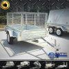 Mini venta completamente soldada con autógena del acoplado con la jaula de 1000m m