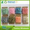 高品質の多色刷りの針布のうたい文句綿の糸