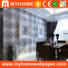 Mur Panel Interior Vinyl Deep Embossed 3D Wallpaper pour Office /SPA