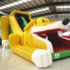 Corrediça inflável amarela do cão (AQ808)