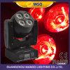 Luz móvil ligera de DJ 8X15W RGBW LED de la pista móvil de la etapa
