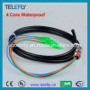 Câble optique de fibre, tresse imperméable à l'eau