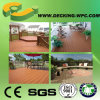 Plancher extérieur Floorig en plastique en bois de WPC imperméable à l'eau