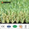 Hierba artificial plástica del PPE del mejor precio de la decoración del jardín