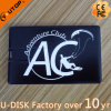 Disc del USB della carta del nero del regalo di promozione del randello di sport (YT-3101)